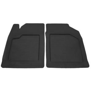 Передние автомобильные резиновые коврики UNI Practic