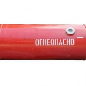Баллон цилиндрический 210л. НЗГА (1240x490)