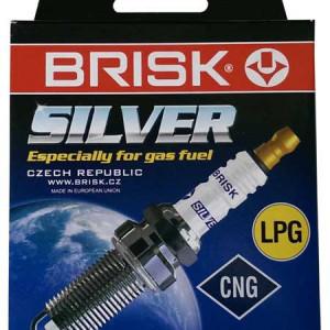 Свеча зажигания Brisk Silver DR17YS-9 Иномарки (1 штука)