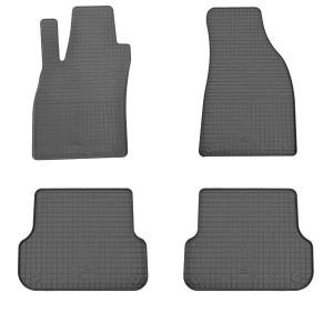 Комплект резиновых ковриков в салон автомобиля Audi A4 (B6) 2000-2004