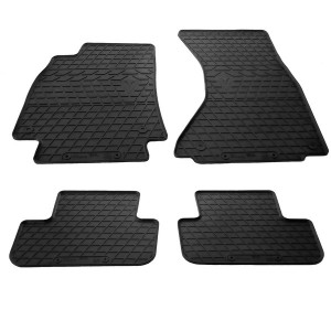 Комплект резиновых ковриков в салон автомобиля Audi A4 B8