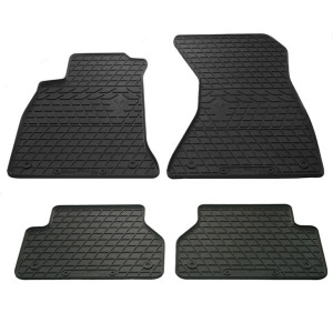 Комплект резиновых ковриков в салон автомобиля Audi A4 B9