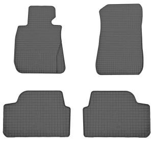 Комплект резиновых ковриков в салон автомобиля BMW 1 E81/E82/E87