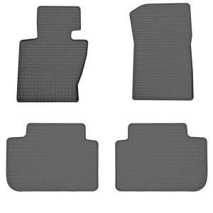 Комплект резиновых ковриков в салон автомобиля BMW X3 E83 2004-