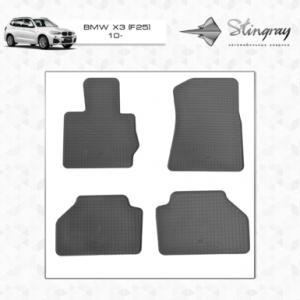 Комплект резиновых ковриков в салон автомобиля мобильные BMW X3 F25