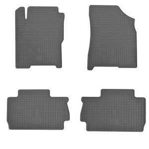 Комплект резиновых ковриков в салон автомобиля Chery A13 2008-