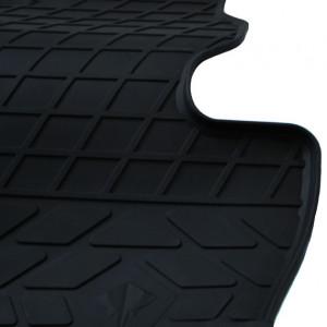 Водительский резиновый коврик Chery QQ 2003- (design 2016)