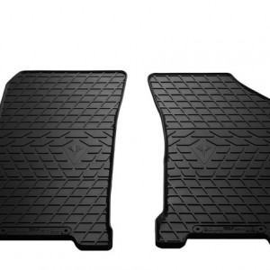 Передние автомобильные резиновые коврики Chevrolet Lacetti 2004- (design 2016)