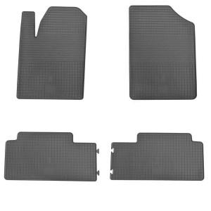 Комплект резиновых ковриков в салон автомобиля Citroen Berlingo (design 2016)