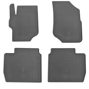 Комплект резиновых ковриков в салон автомобиля Citroen C-Elysse