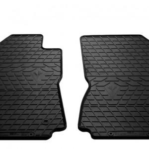 Передние автомобильные резиновые коврики Citroen C3 III 2017-
