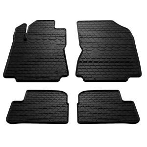 Комплект резиновых ковриков в салон автомобиля Citroen C3 III 2017-