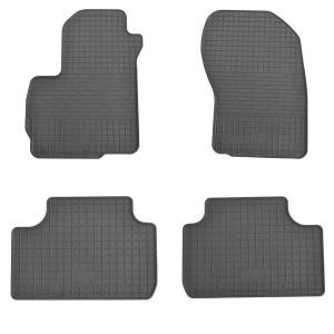 Комплект резиновых ковриков в салон автомобиля Citroen C4 Aircross