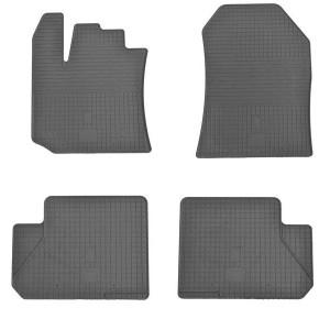 Комплект резиновых ковриков в салон автомобиля Dacia-Renault Lodgy 2012-