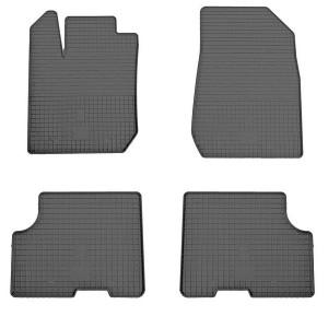 Комплект резиновых ковриков в салон автомобиля Renault Dacia Logan 2