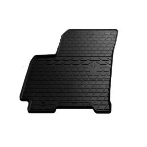 Водительский резиновый коврик Daewoo Gentra 2013- (design 2016)