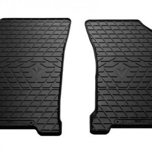 Передние автомобильные резиновые коврики Daewoo Gentra (design 2016)