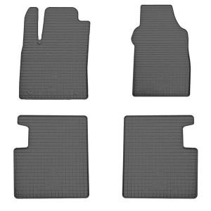 Комплект резиновых ковриков в салон автомобиля Fiat 500