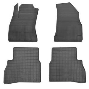Комплект резиновых ковриков в салон автомобиля Fiat Doblo Cargo 2010-