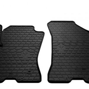 Передние автомобильные резиновые коврики Fiat Doblo 2010-