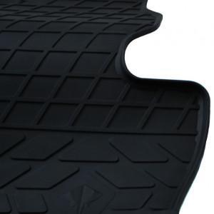 Водительский резиновый коврик Fiat Fiorino 2008-