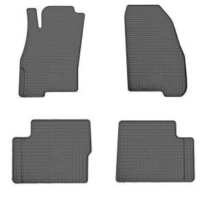 Комплект резиновых ковриков в салон автомобиля Fiat Punto Evo