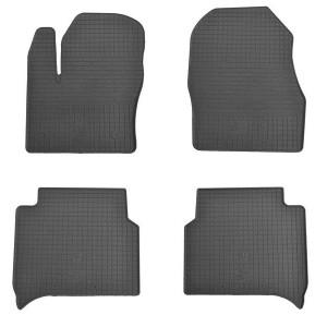 Комплект резиновых ковриков в салон автомобиля Ford Connect 2014 -