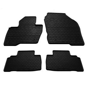 Комплект резиновых ковриков в салон автомобиля Ford Edge 2014-