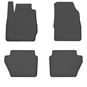 Комплект резиновых ковриков в салон автомобиля Ford Fiesta 2017-