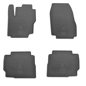 Комплект резиновых ковриков в салон автомобиля Ford S-Max