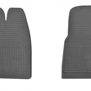Комплект резиновых ковриков в салон автомобиля Ford Transit Custom 2012