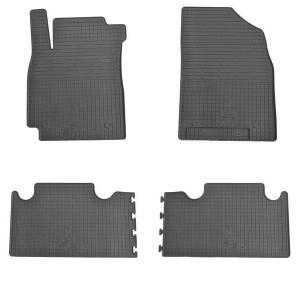 Комплект резиновых ковриков в салон автомобиля Geely Emgrand X7