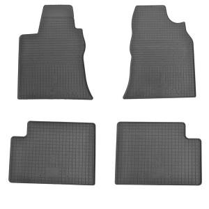 Комплект резиновых ковриков в салон автомобиля Geely GC7