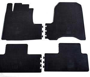 Комплект резиновых ковриков в салон автомобиля Honda CR-V 2007-2012