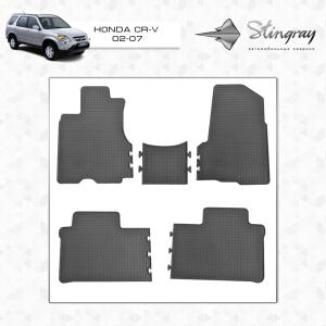 Комплект резиновых ковриков в салон автомобиля Honda CR-V
