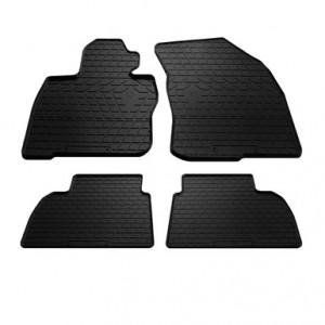 Комплект резиновых ковриков в салон автомобиля Honda Civic hatchback 2006-