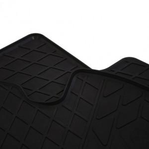 Передние автомобильные резиновые коврики Hyundai Accent 2017-