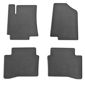 Комплект резиновых ковриков в салон автомобиля Hyundai Accent 2010-