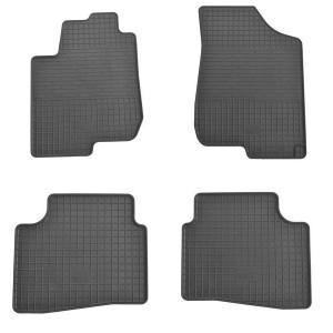 Комплект резиновых ковриков в салон автомобиля Hyundai Elantra AD