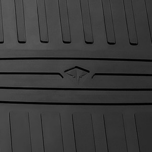 Комплект резиновых ковриков в салон автомобиля Ioniq Electric 2017-/Ioniq Hybrid 2017-
