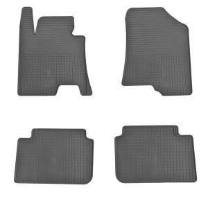 Комплект резиновых ковриков в салон автомобиля Hyundai I30 2017- (design 2017)