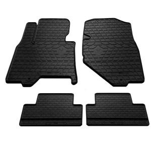 Комплект резиновых ковриков в салон автомобиля Infiniti EX 2008-