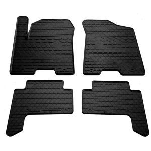 Комплект резиновых ковриков в салон автомобиля Infiniti QX80 2013-