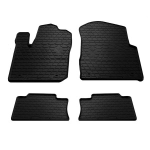 Комплект резиновых ковриков в салон автомобиля Jeep Grand Cherokee WL 2010-