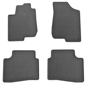 Комплект резиновых ковриков в салон автомобиля Cerato 2009-2012