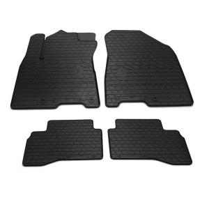 Комплект резиновых ковриков в салон автомобиля Kia Niro 2016-