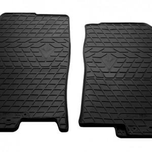 Передние автомобильные резиновые коврики Kia Rio 2017-