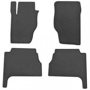 Комплект резиновых ковриков в салон автомобиля Kia Sorento 2012