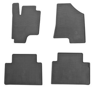 Комплект резиновых ковриков в салон автомобиля Kia Sportage III 2010-