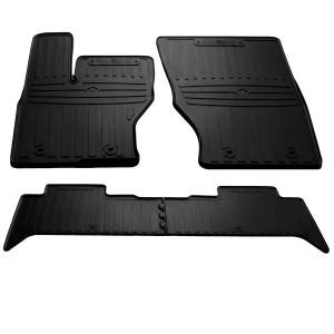 Комплект резиновых ковриков в салон автомобиля Land Rover Range Rover IV (L405) 2012-